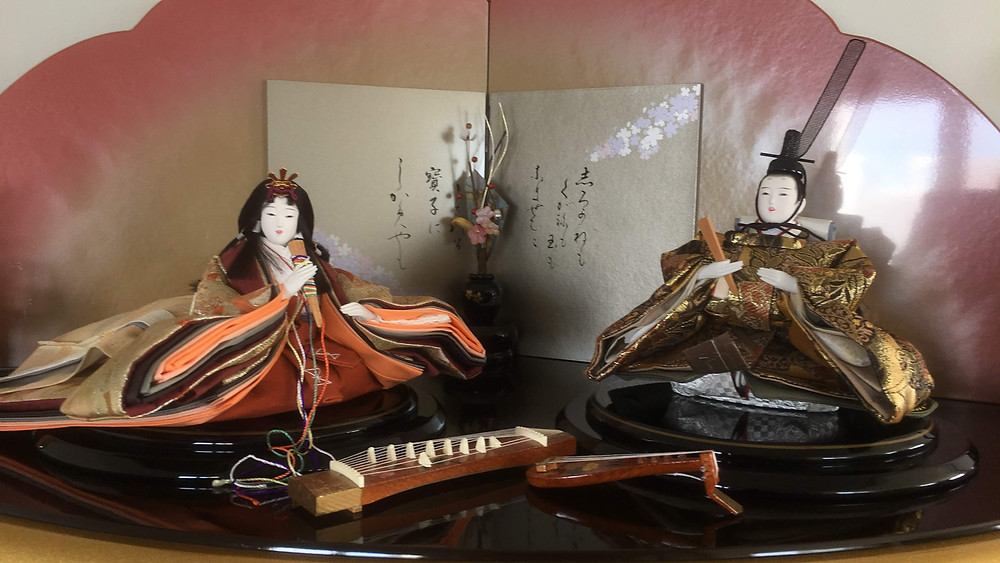 Zusetsu Store furoshiki hina dolls Japan Japanese culture gifts from Japan