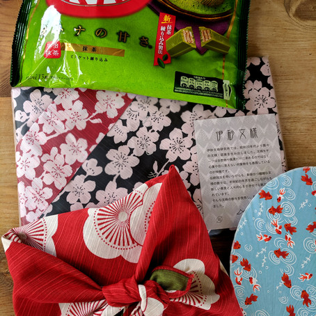 Discover furoshiki in the Cotswolds!