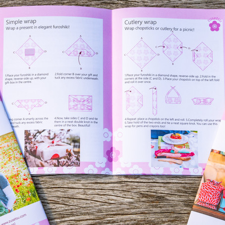 Take a Look at our New Furoshiki Handbook!