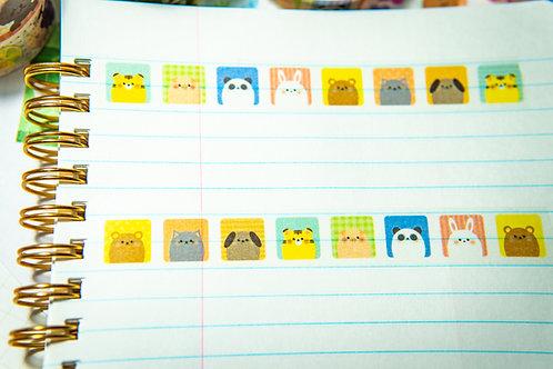 Washi Tape from Japan - Animal