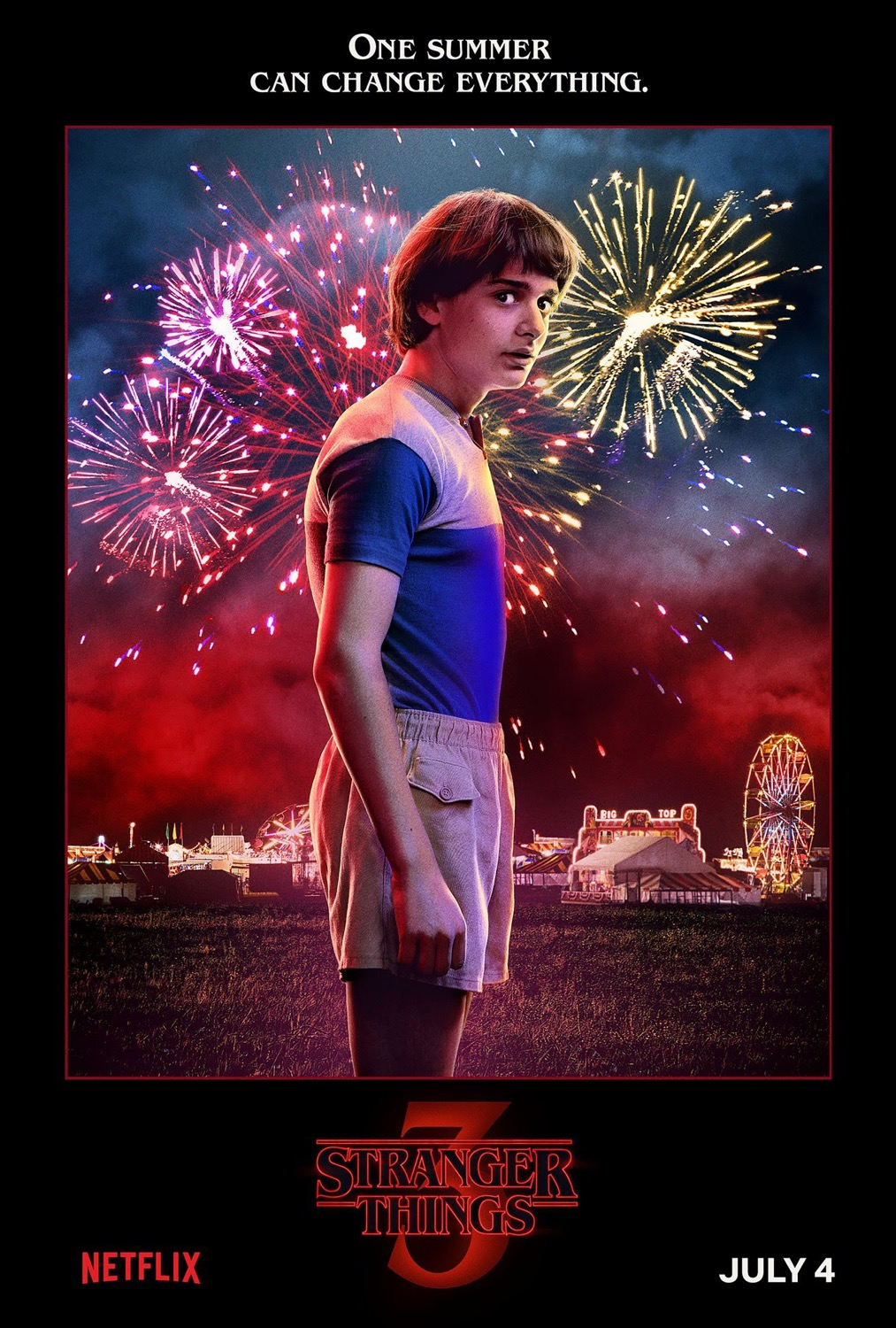 Stranger Things S3 Character Art