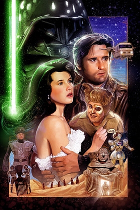 SPACEBALLS: THE PAINTING