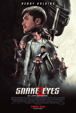 SNAKE EYES International One Sheet