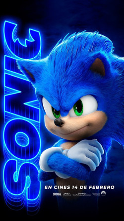 SONIC Character Poster