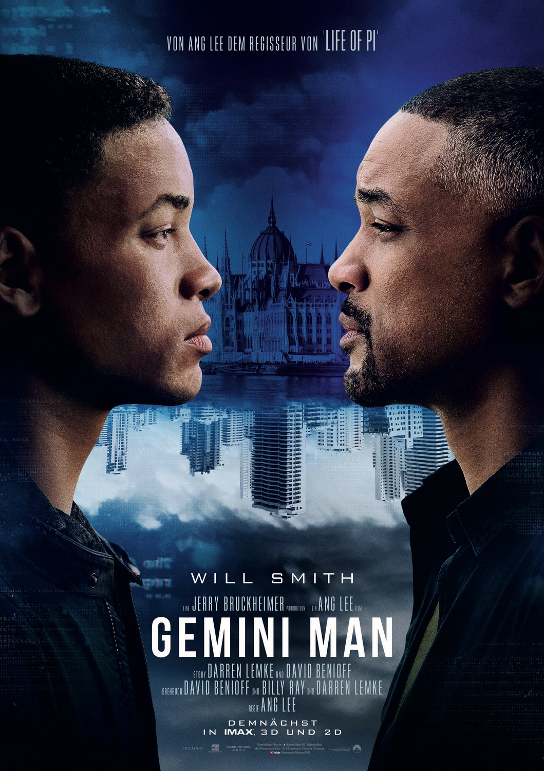 Gemini Man International Key Art