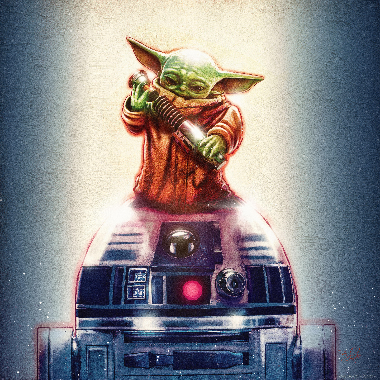 R2 n' Grogu