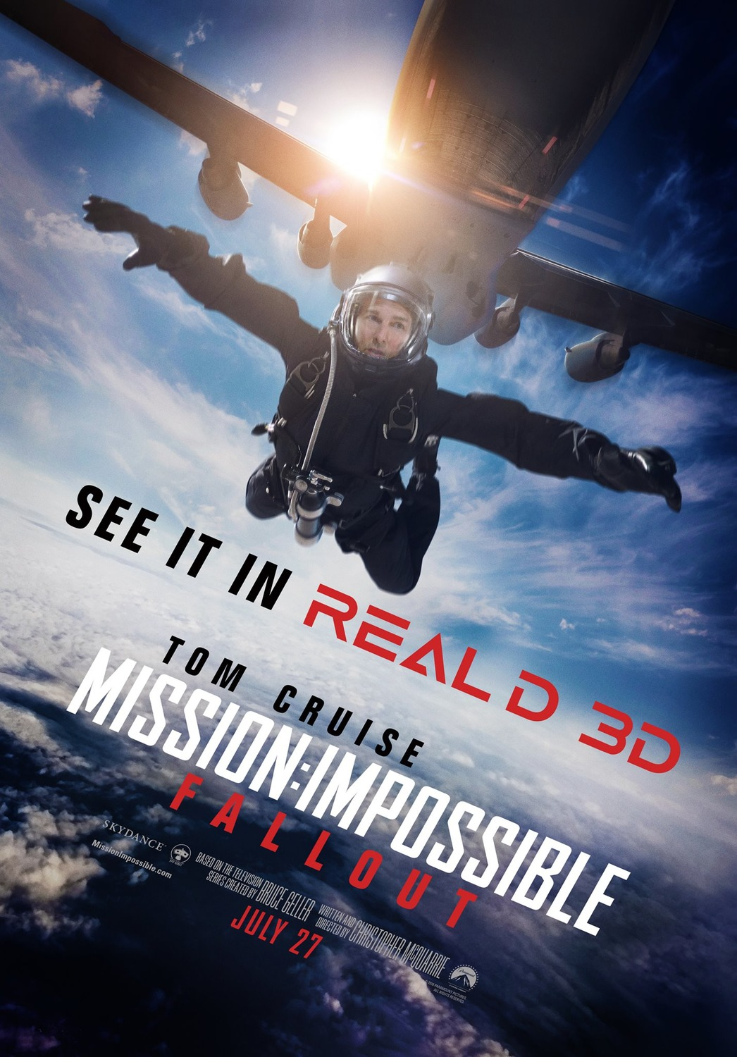 Mission Impossible Fallout - Real-D