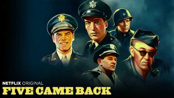 Five Came Back -- Netflix Key Art