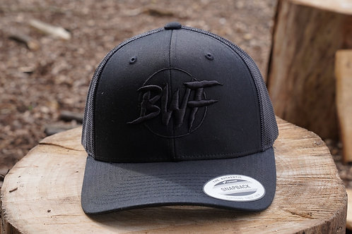 BWF SnapBack - Black