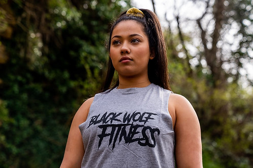 BWF Ladies Slash Vest - Heather Grey