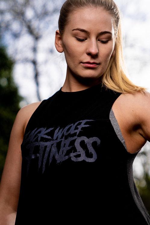 BWF Ladies Slash Vest - Black