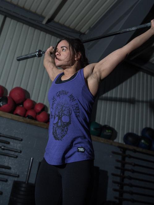 """""""PB Tree"""" Ladies Vest - Purple"""