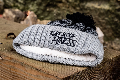 BWF Bobble Hat - Grey