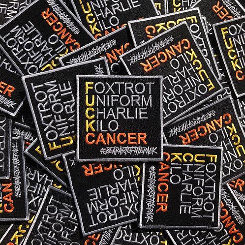 F.U.C.K.Cancer Velcro Badge