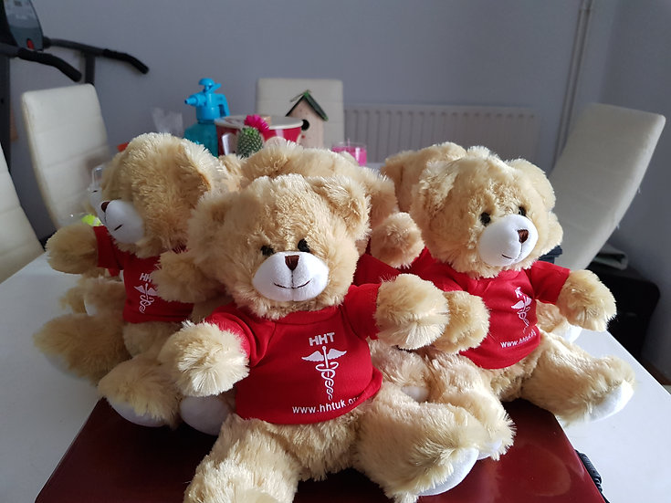 HOPE the HHT awareness teddy