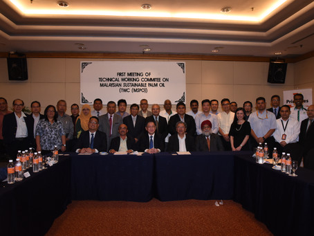 First Meeting of Technical Working Committee on Malaysian Sustainable Palm Oil [TWC(MSPO)]