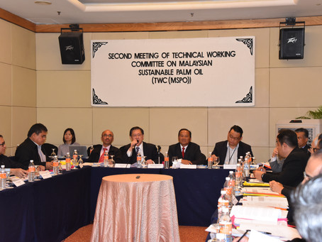 Second Meeting of Technical Working Committee on Malaysian Sustainable Palm Oil [TWC(MSPO)]