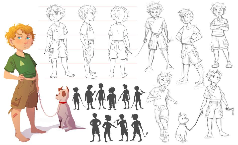 Character Sheet - Adam