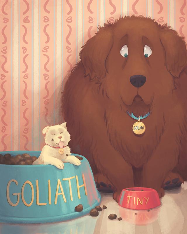 Goliath and Tiny