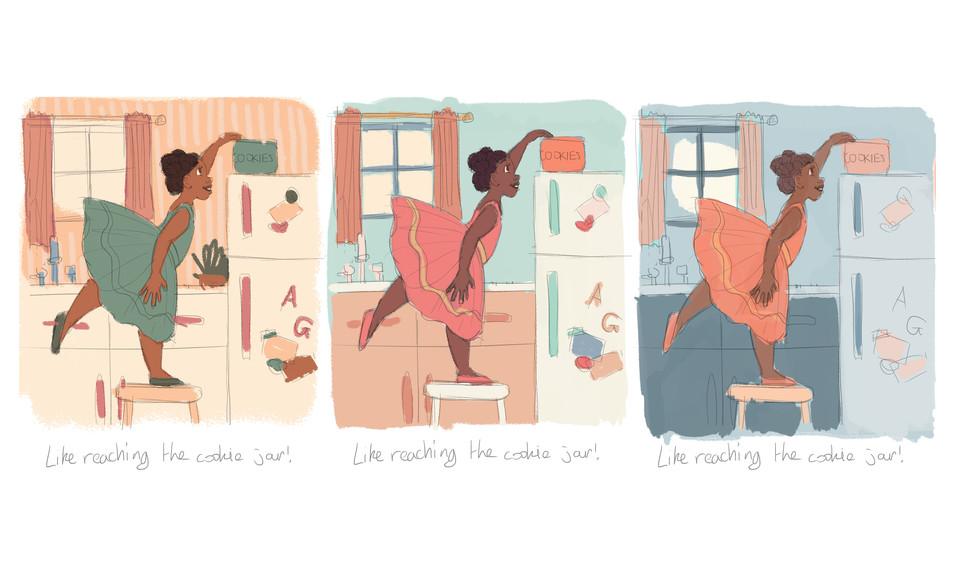 Cookie Jar Colour Studies