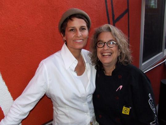 Susan and Liz