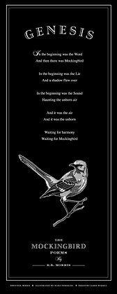 Mockingbird Poems Poster - Genesis