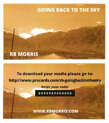 Going Back To The Sky- Digital Download Card
