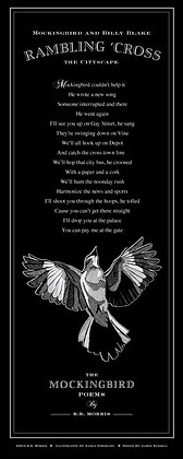 The Mockingbird Poems Poster- Mbird and Billy.....