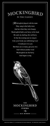 The Mockingbird Poems Poster- In The Garden