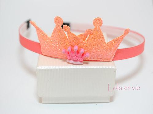 diadeem crown orange