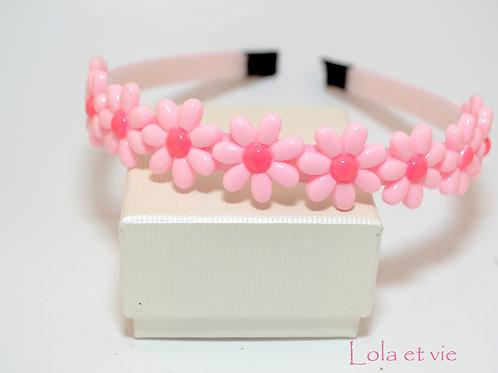 diadeem daizy pink