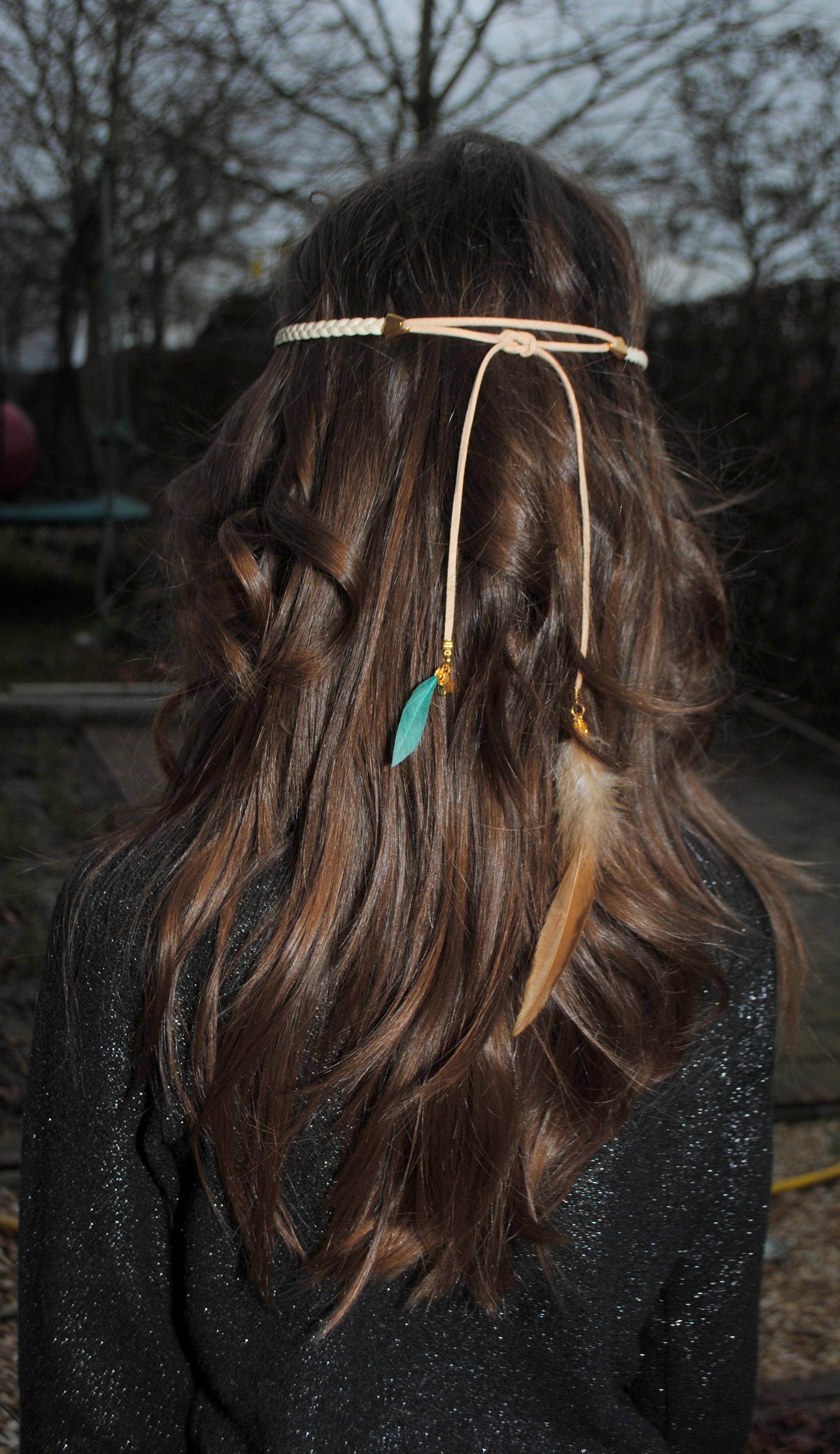 Boho haarbandjes