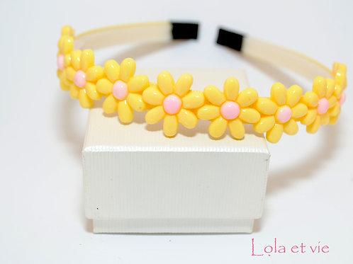 diadeem daizy yellow