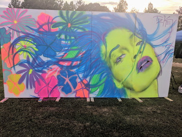 Live Mural for Missihippi Fest