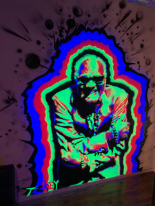 Ray Charles-UV Reactive