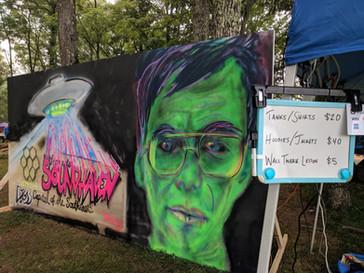 Live Mural for Soundhaven Fest