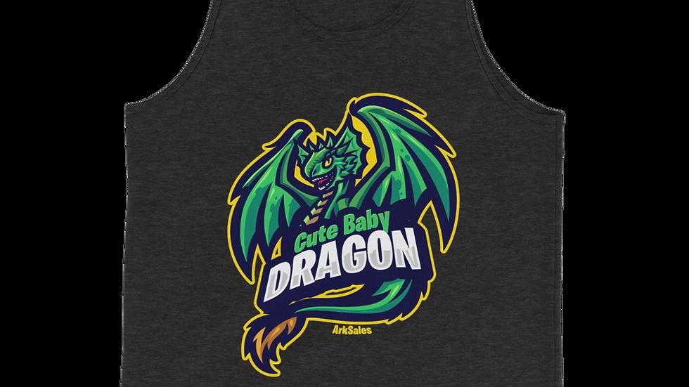 Unisex Baby Dragon Tri-Blend Tank Top