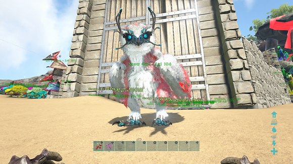 104 Unleveled Patriotic Event Snow Owl