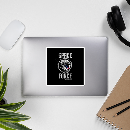 Space Force Bubble-free stickers