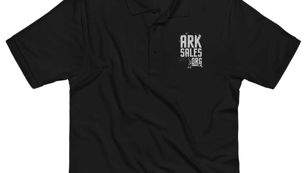 ArkSales Men's Premium Polo
