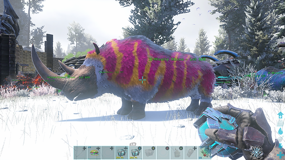 163 Unleveled Easter Event Wooly Rhino (Also Available On Gen1268)