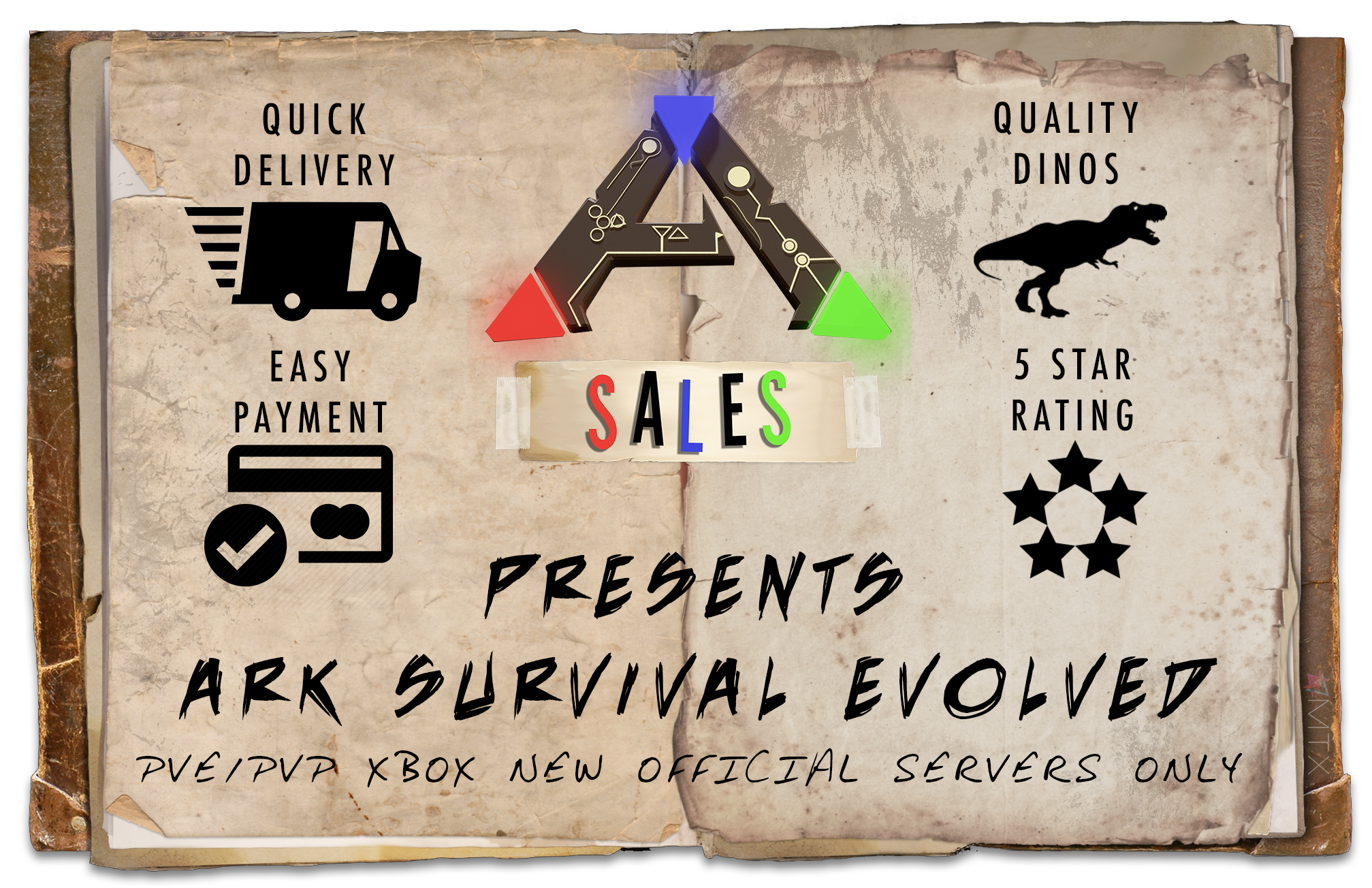 Xbox PvE | Buy Ark Dinos | Ark Sales | Ark Survival Evolved