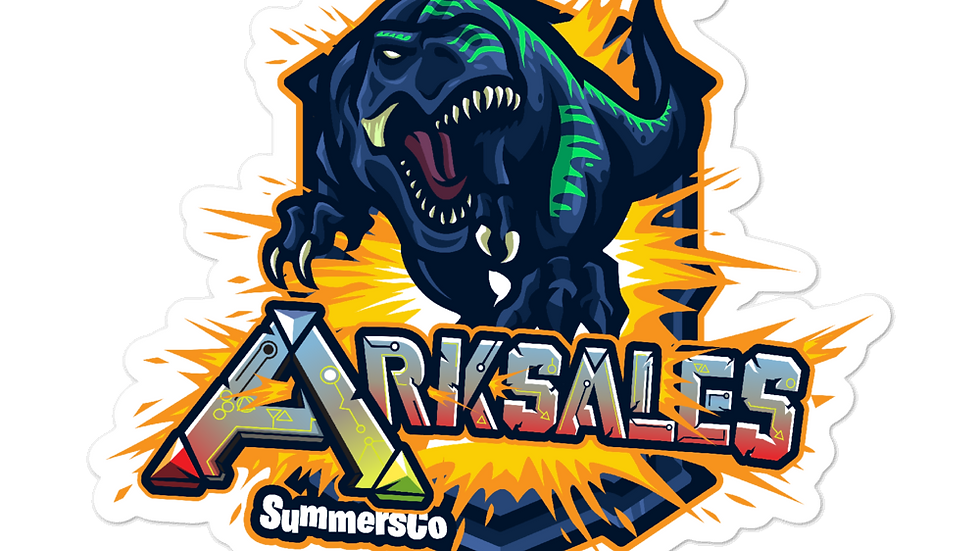 Bubble-free Ark Sales Stickers