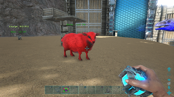 74 Unleveled Red Event Ovis Sheep