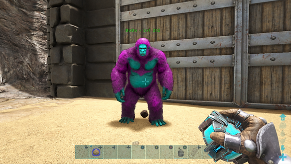 212 Cotton Candy Event Gigapithicus Monkey Ape