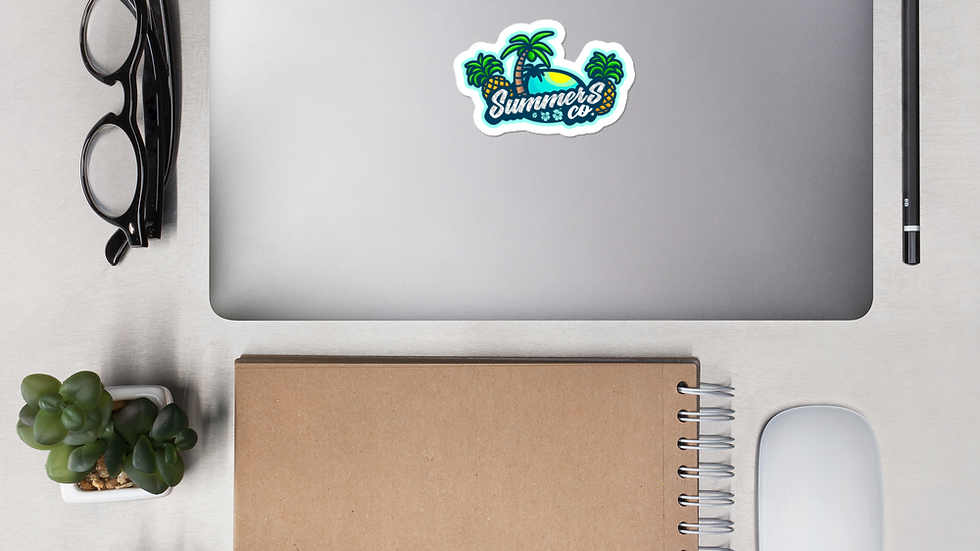 SummersCo Logo Bubble-free stickers