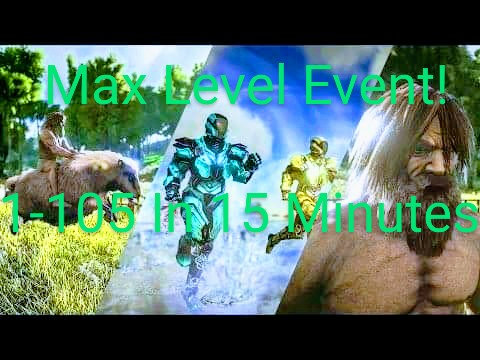 MAX LEVEL EVENT! Lvl 1-105 In Only 15 Minutes! Sat 3/7 @ 6PM EST RESCHEDULED!