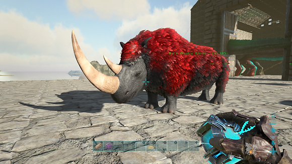 195 Unleveled Deadpool Event Woolly Rhino