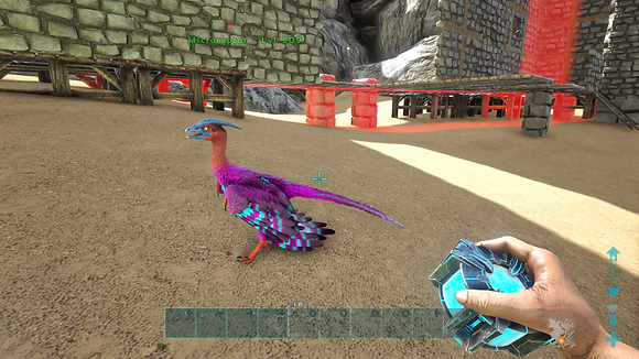 209 Unleveled Cotton Candy Event Micro Raptor