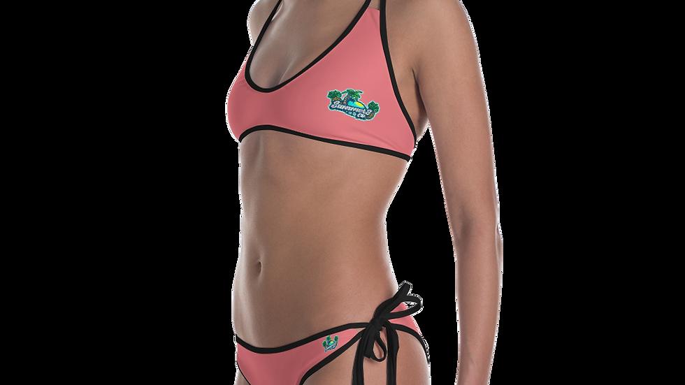 SummersCo Salmon Bikini